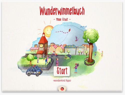 """""""Wunderwimmelbuch - Meine Stadt. ipad iphone Das interaktive Wimmelbuch für Groß und Klein"""