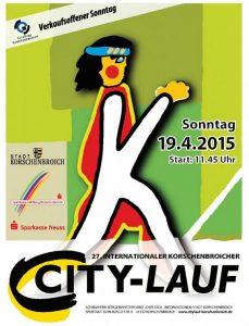 27. Korschenbroicher City-Lauf 2015 Logo