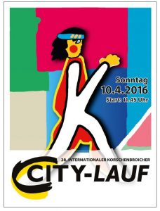 28. Korschenbroicher City-Lauf 2016 Logo