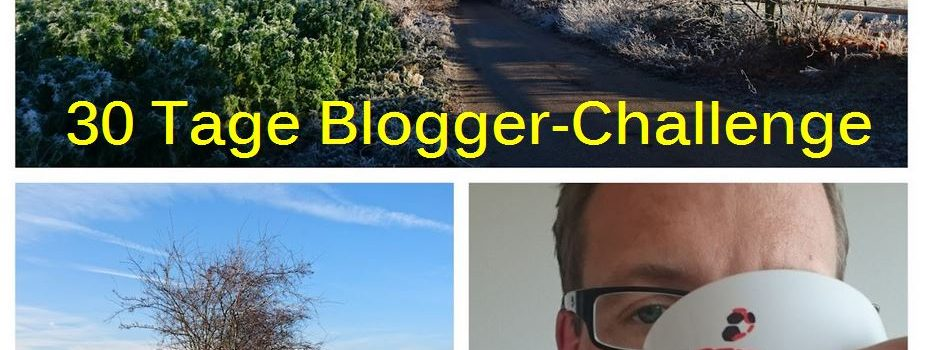 30 Tage Blogger-Challenge Logo