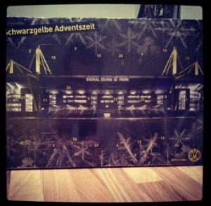 Adventskalender Borussia Dortmund BVB 2012