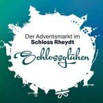 Adventsmarkt Schlossglühen Schloss Rheydt Mönchengladbach Facebook Logo