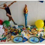 All-Inclusiv-Partyset für einen Motto-Geburtstag Kinder-Olympiade Atongarix