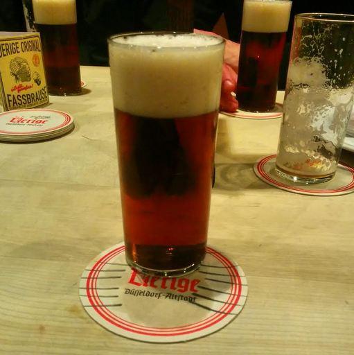 Altbier Bier Alt Uerige Hausbrauerei Düsseldorf Altstadt
