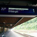 Altenbeken Bahnhof Ostwestfalen NordWestBahn Gleis 1 RB 84