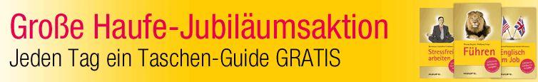 Amazon Haufe Jubiläumsaktion gratis eBook eReader Kindle kostenlos gratis Taschen-Guide