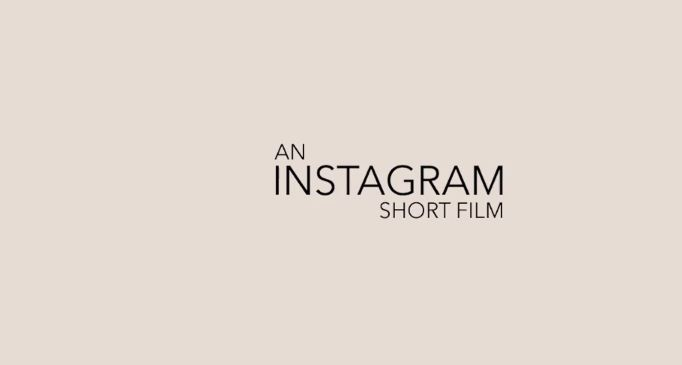 An Instagram Short Film Screenshot