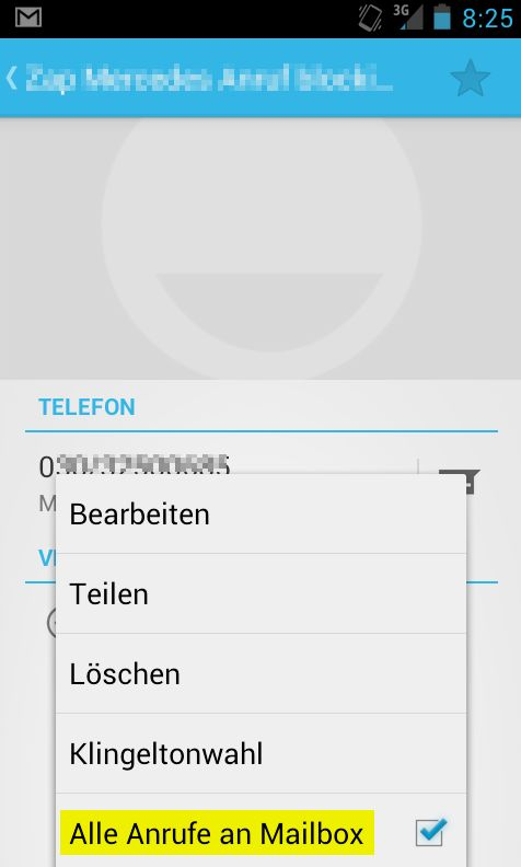 Android Anrufe blocken blockieren Spam cold call Anrufer