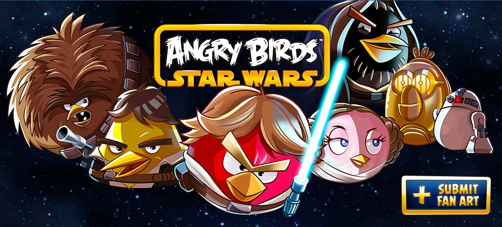 Angry Birds - Star Wars Tumblr