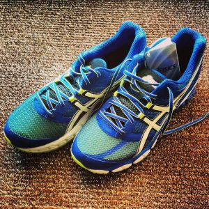 Asics GEL-Pulse 5 BLAU Laufen Running Schuhe