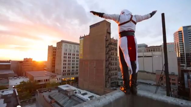 Assassin's Creed Meets Parkour in Real Life YouTube Video