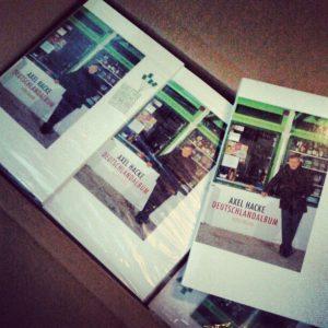 Axel Hacke Deutschlandalbum Welttag des Buches Cover