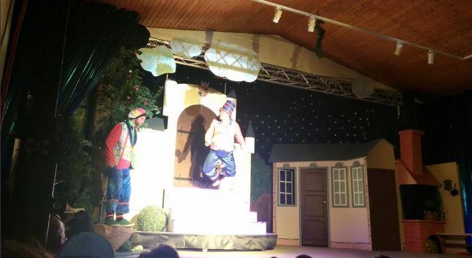 Bühne Aschenputtel Weihnachtsmärchen Schelsen Mönchengladbach Niederrhein