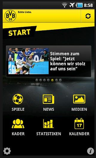 BVB Borussia Dortmund Android App Play Store Google