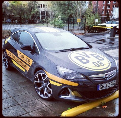BVB Borussia Dortmund Opel Echte Liebe lebt von Leidenschaft Fan-Shop