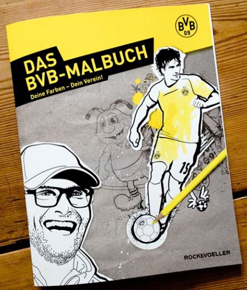 BVB-Malbuch Rockevoeller Deine Farben Dein Verein Borussia Dortmund