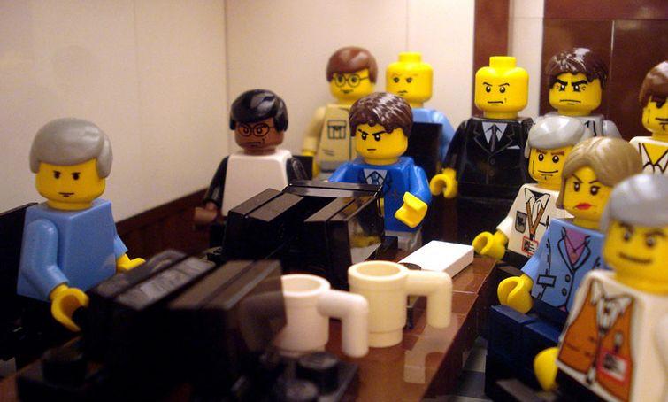 Barack Obama Lego