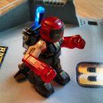 BattroBorg Arena Battle Roboter rot
