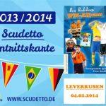 Ben Redeling WM-Tour 2013 2014 Leverkusen Stadioneck Februar 2014 Tickets Ankündigung