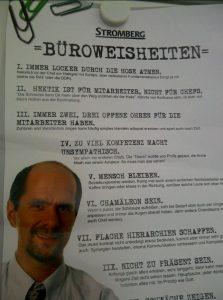 Bernd Stromberg Büroweisheiten Büro Comedy
