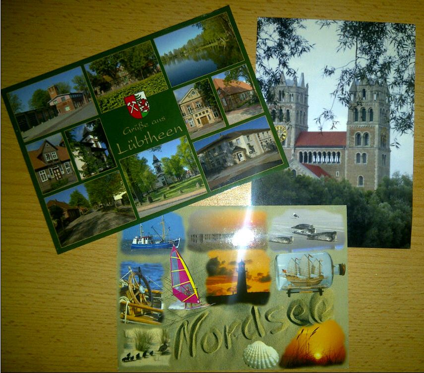 Blogger Aktion Postkarten Sommer 2011