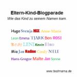 Blogparade Vornamen