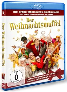Blu ray DVD Der Weihnachtsmuffel Cover Rezension Produkttest Review