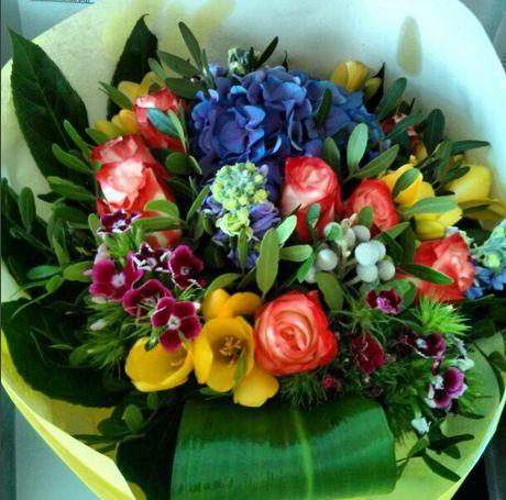 Blumen Strauß Blumenstrauß Arabella Düsseldorf Derendorf Blumenladen