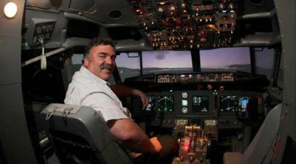 Boeing 737 Flugsimulator Flugzeug Simulator Video