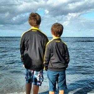 Borussen Borussia Dortmund BVB Sellin Rügen Urlaub Meer Strand