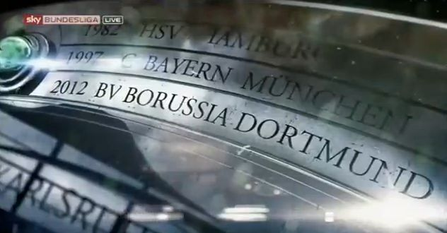 Borussia Dortmund BVB Meisterschaft Meisterschale Schale 2012 Video YouTube