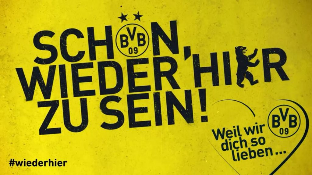 Borussia Dortmund Berlin DFB-Pokal Finale BVB