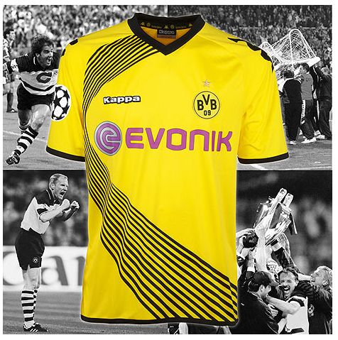 Borussia Dortmund Champions League 2011 2012 CL Trikot komplett