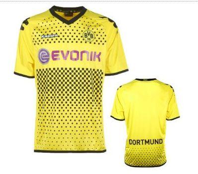 Borussia Dortmund Trikot Home 2011 2012 Kappa Sleeve online günstig kaufen