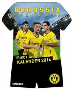 Borussia Dortmund Trikotkalender 2014 Amazon BVB Rezension Produkttest teNeues