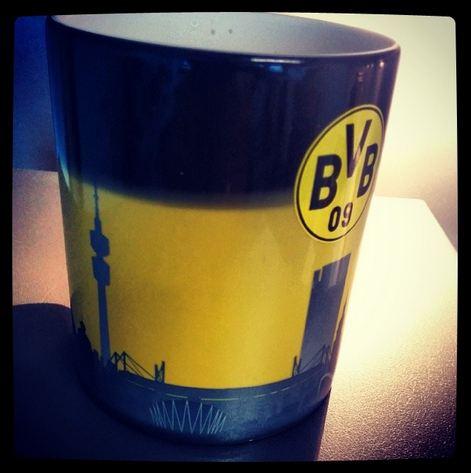 Borussia Dortmund Zaubertasse Skyline BVB