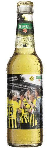 Brinkhoff´s No. 1 Bier BVB Borussia Dortmund schwarzgelbe Leidenschaft Flasche 1