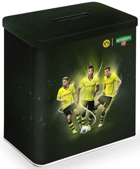 Brinkhoff's No.1  schwarzgelbe Fan-Editionsboxen Schmelzer Aubameyang Großkreutz