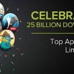 Celebrating 25 Billion Downloads Store Google Play