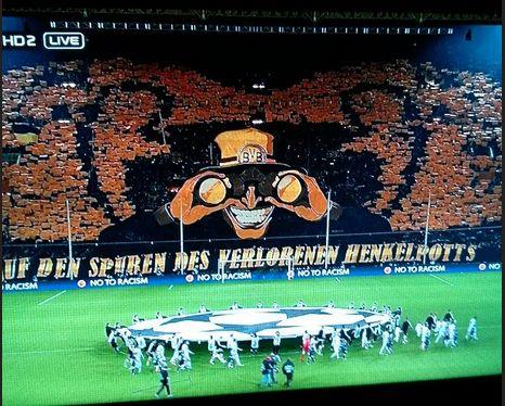 Champions League Choreo Choreografie BVB Borussia Dortmund The Unity Westfalenstadion