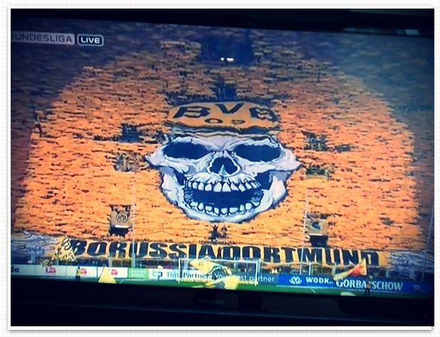 Choreografie BVB Borussia Dortmund VfL Wolfsburg The Unity