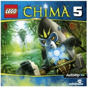 Cover CD 5 Legends of Chima