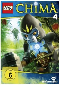 Cover DVD 4 Legends of Chima