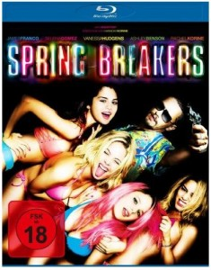 Cover Film-Review Blu-ray Spring Breakers