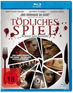 Cover Film-Review Blu-ray Tödliches Spiel - Would You Rather