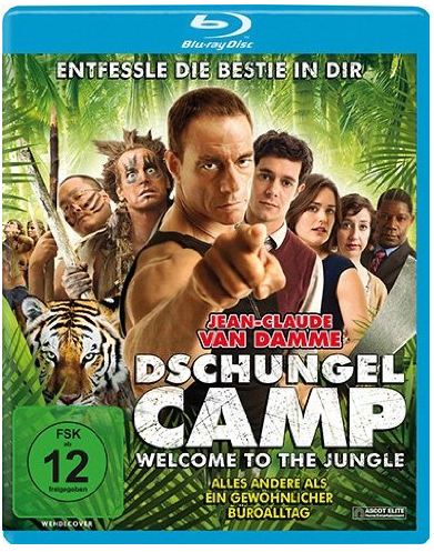 Cover Film-Review Dschungelcamp - Welcome to the Jungle Blu-ray