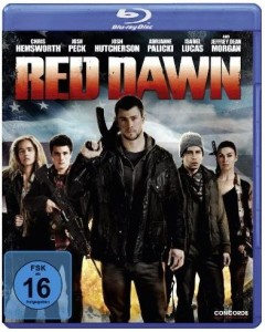 Cover Film-Review Red Dawn Blu-ray  Chris Hemsworth Adrianne Palicki