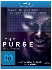Cover Film-Review The Purge Die Säuberung Blu-ray