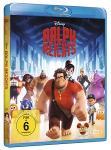 Cover Produkttest Rezension Ralph reichts Blu-ray Amazon Disney