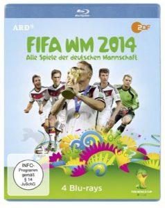 Cover Review FIFA WM 2014 - Alle Spiele der deutschen Mannschaft